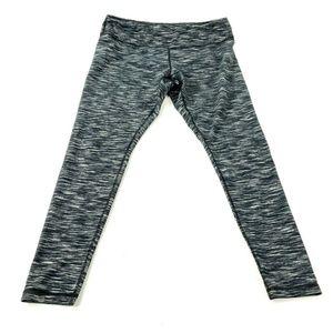 Zella High-Waist Yoga Striped Stretch Leggings